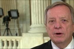 Sen. Durbin reacts to FBI probe news