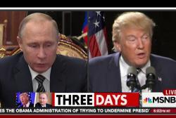 Putin 'feels like he's been elected...
