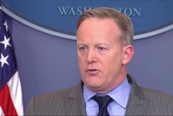 Fact checking Sean Spicer's inauguration...