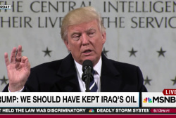 Trump oil grab policy puts US troops at risk