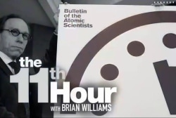 Scientists inch Doomsday Clock closer to...
