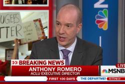 Trump ban a 'dog whistle': ACLU's Romero
