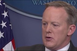 Sean Spicer on airport detention of 5 year...