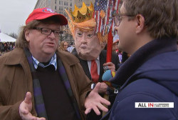 Michael Moore: 'Resist, stand up, fight back'