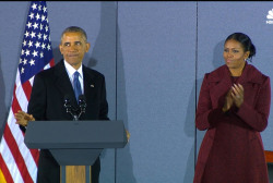 Watch Obama's final speech before...