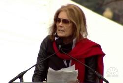 Gloria Steinem at women's march: 'Don't...
