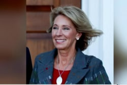 Bruni: DeVos came off like a rank amateur...