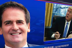 Mark Cuban: Trump sets the bar low