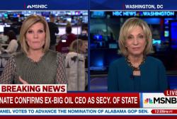 Senate confirms Rex Tillerson