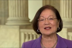 Sen. Hirono: Continue to call your...