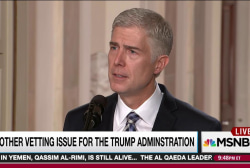 Questions of accuracy dog Gorsuch biography