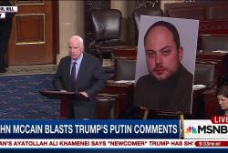 McCain blasts Trump comments, calls Putin...