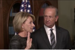 What makes DeVos nomination so controversial?
