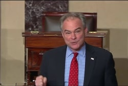 Kaine: Sessions will not be a champion for...