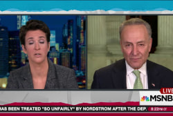 Schumer: Voters will be watching Trump picks