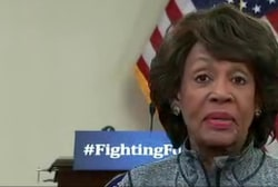 Rep. Waters: Trump 'leading himself to...