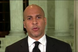 Sen. Booker: Trump is not above the law