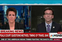 Washington AG talks next steps in ban case