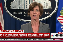 White House warned of Flynn blackmail risk...