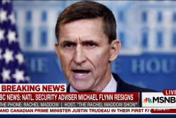 Maddow: Resignation doesn't end Flynn scandal