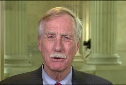 Sen. Angus King: Investigation on Flynn,...