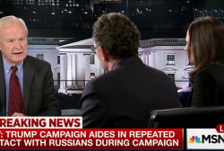 Trump aides had contact with Russian...