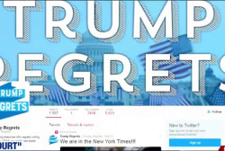 Trump voters tweet regret