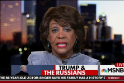 Waters: Trump advisors w/ Russia ties ...