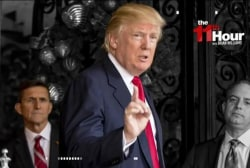 Asked about Flynn on Friday, Trump said 'I...