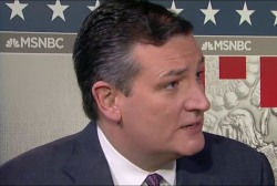Cruz: I thought it was a very positive,...