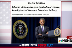 NYT: Obama staff tried to save Russia intel