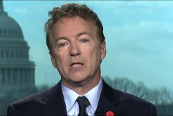 Sen. Paul speaks after health care meeting...