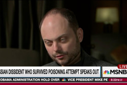 Russian dissident talks surviving poisoning