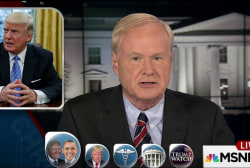Matthews: Trump is in the world's biggest...