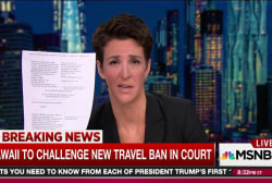 Hawaii first to sue over new Trump travel ban