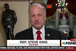 Rep. King surprised majority support...
