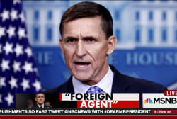 Flynn was a foreign agent during the campaign