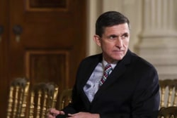 Flynn registered as foreign agent for...