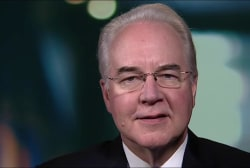 HHS Secy. Price: We don't believe people...
