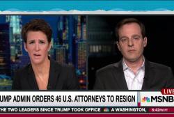 Mistrustful Trump purges US attorneys