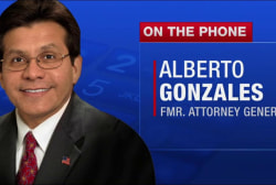 Fmr. US AG Gonzales: 'There's nothing...
