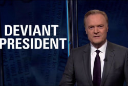 Lawrence: Trump 'most deviant man ever to...