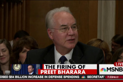 Was fired U.S. Atty. investigating HHS secy.?