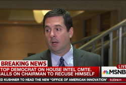 Top Dem. calls for House Intel Chair recusal