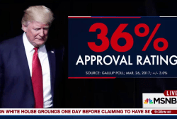Just 67 days in, Pres. Trump's approval...