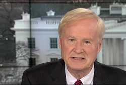 Matthews: You can't shake your head in WH...