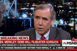Sen. Merkley: Dems will filibuster Gorsuch