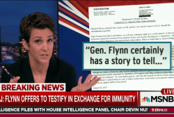 Flynn testimony offer jolts Trump Russia case
