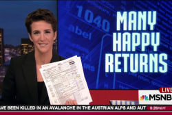 Trump's 2005 tax forms raise new questions