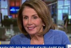 Nancy Pelosi on GOP healthcare fail